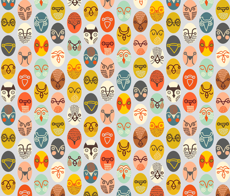 rare species - gray fabric by endemic on Spoonflower - custom fabric