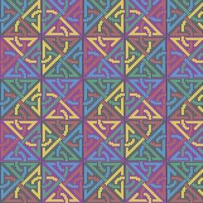 Celtic Knotwork Chessboard