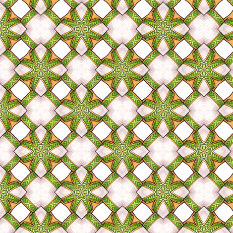 Braided Tiles fabric by siya on Spoonflower - custom fabric