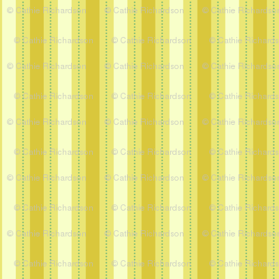 Honey Mustard Stripe