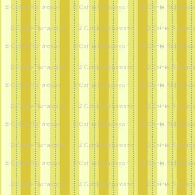 Honey Mustard Stripe