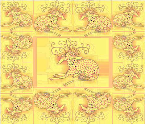 Sundeerlings fabric by adranre on Spoonflower - custom fabric