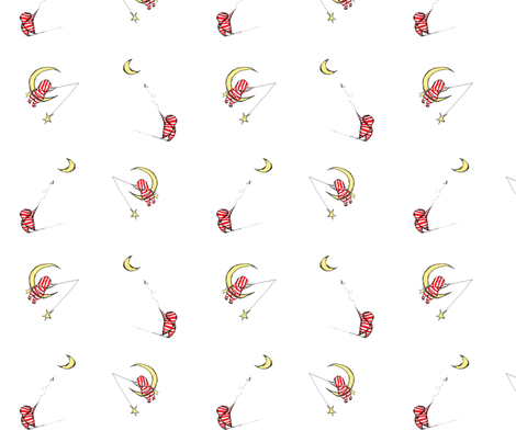 Night For Fishing and Flights fabric by gumball_grenade on Spoonflower - custom fabric