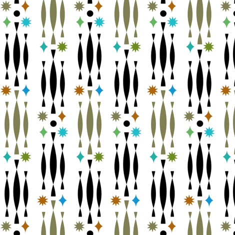 Beatnik fabric by andibird on Spoonflower - custom fabric