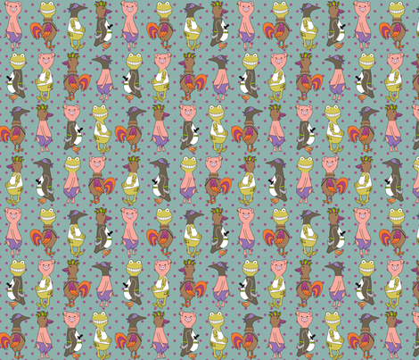 anibels - rebellious mess fabric by annosch on Spoonflower - custom fabric