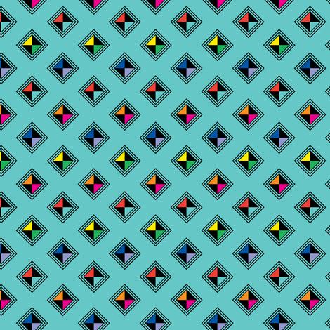 Urban Tribe fabric by andibird on Spoonflower - custom fabric