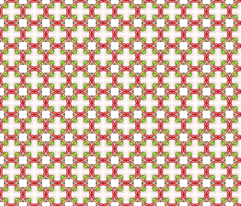 Red Rings fabric by siya on Spoonflower - custom fabric