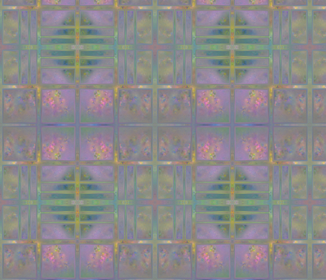 Rose Trellis Abstract large © 2011 Gingezel™ fabric by gingezel on Spoonflower - custom fabric
