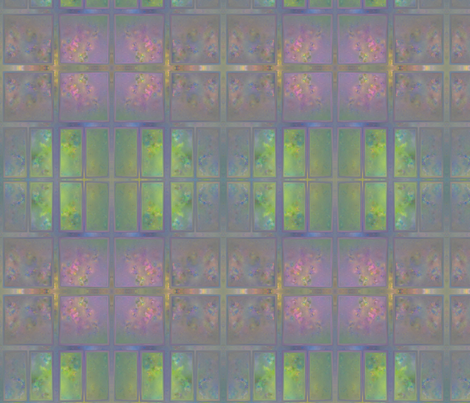 Garden Window Rose Bed Abstract in Large © 2011 Gingezel Inc. fabric by gingezel on Spoonflower - custom fabric