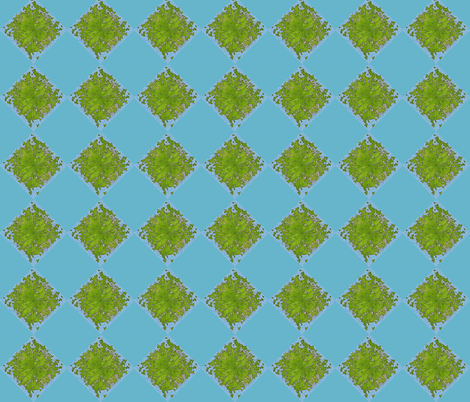 Lattice leaves fabric by keweenawchris on Spoonflower - custom fabric