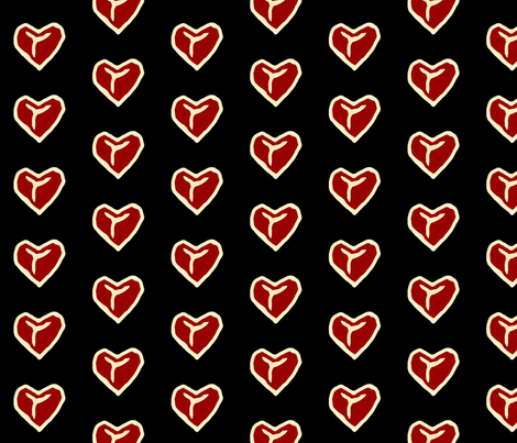 Nothin_Says_Love... fabric by lkglioness on Spoonflower - custom fabric