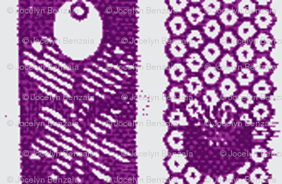 Olive & Diaper Purple