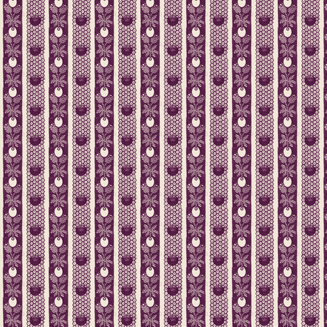 Olive & Diaper Maroon fabric by the_cornish_crone on Spoonflower - custom fabric