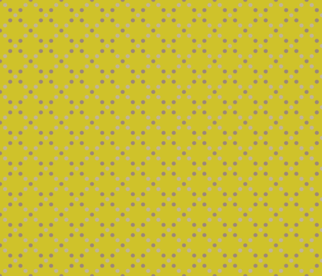 Dots grey-gold 1/2 size fabric by kayajoy on Spoonflower - custom fabric