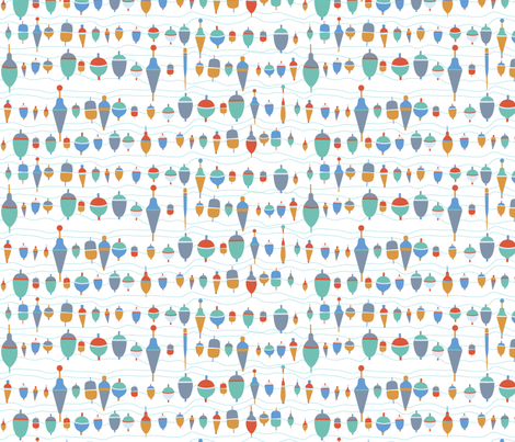 Petits Bouchons fabric by demigoutte on Spoonflower - custom fabric