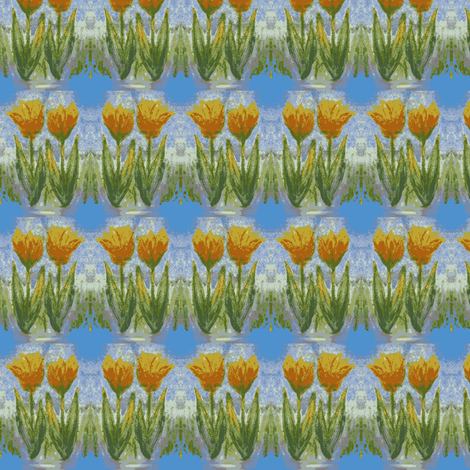 Tulipes fabric by vinkeli on Spoonflower - custom fabric