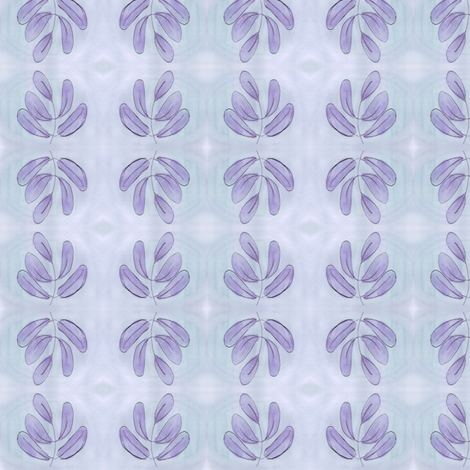olive shrub light fabric by mimi&me on Spoonflower - custom fabric