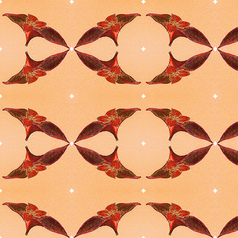 Setcreasea pallida  fabric by mimi&me on Spoonflower - custom fabric