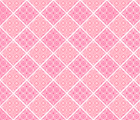 Lace in pink fabric by joanmclemore on Spoonflower - custom fabric