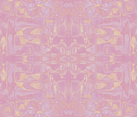 Pink Spring Abstract Art © 2011 Gingezel Inc. fabric by gingezel on Spoonflower - custom fabric
