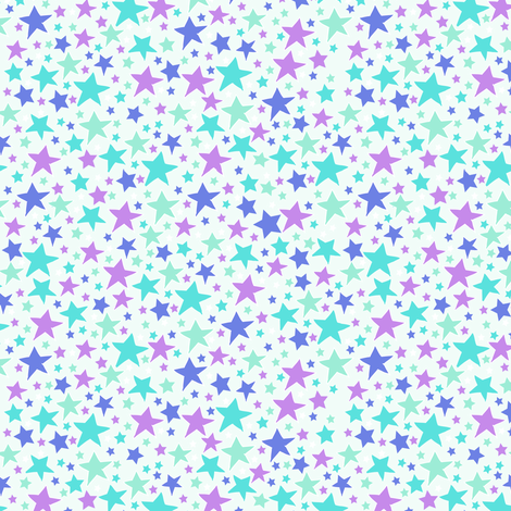 mixedstars5 fabric by babysisterrae on Spoonflower - custom fabric