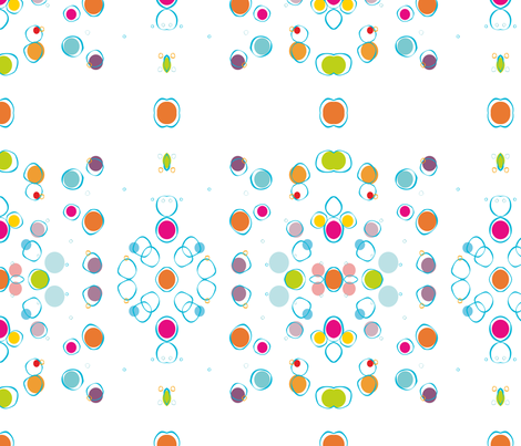 Bubbles fabric by chris_aart on Spoonflower - custom fabric