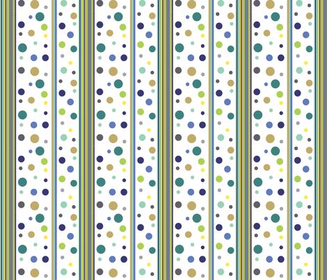 dots_stripesblue2 fabric by createdgift on Spoonflower - custom fabric