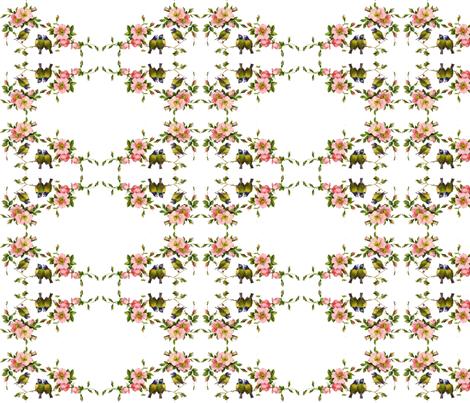 Birds Paradise fabric by peagreengirl on Spoonflower - custom fabric