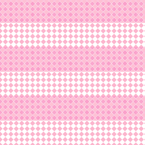 Diamonds and Stripes in pink fabric by joanmclemore on Spoonflower - custom fabric