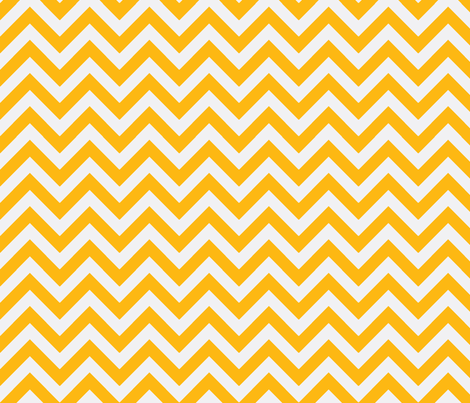 marigold chevron fabric by xoelle on Spoonflower - custom fabric