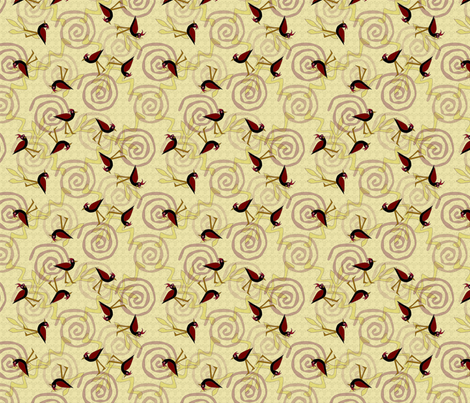 © 2011 The No Left Tern - Sand fabric by glimmericks on Spoonflower - custom fabric