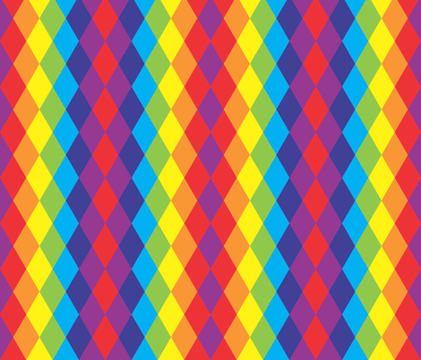 rainbow tassels fabric by majobv on Spoonflower - custom fabric