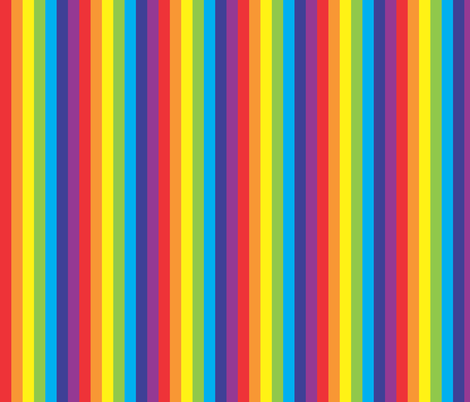 rainbow lines fabric by majobv on Spoonflower - custom fabric