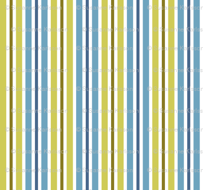 blue and green retro stripes