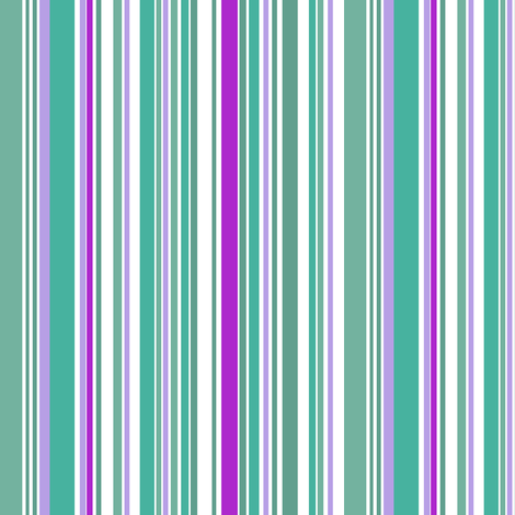 go_fish_stripe_multi fabric by fabricfarmer_by_jill_bull on Spoonflower - custom fabric