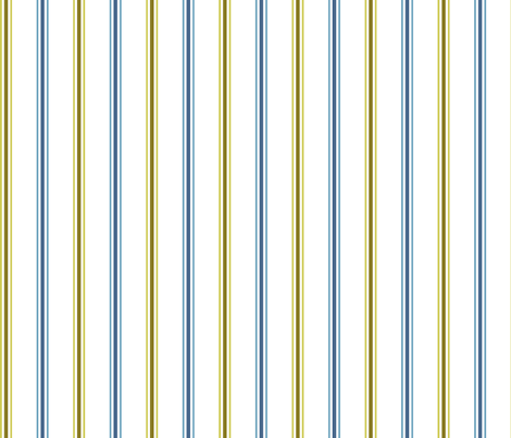 blue and green retrostripes 2 fabric by suziedesign on Spoonflower - custom fabric