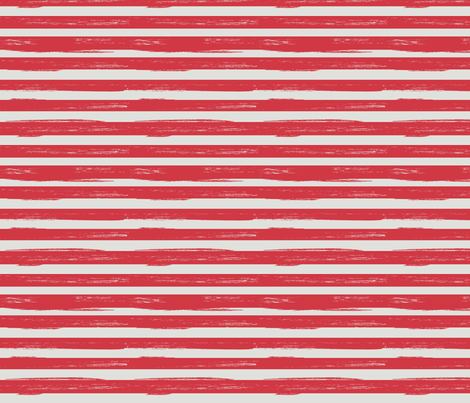 distressed red stripes fabric by christy_kay on Spoonflower - custom fabric
