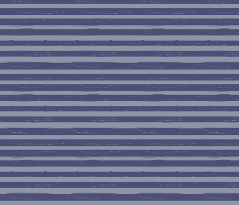 distressed blue stripes fabric by christy_kay on Spoonflower - custom fabric