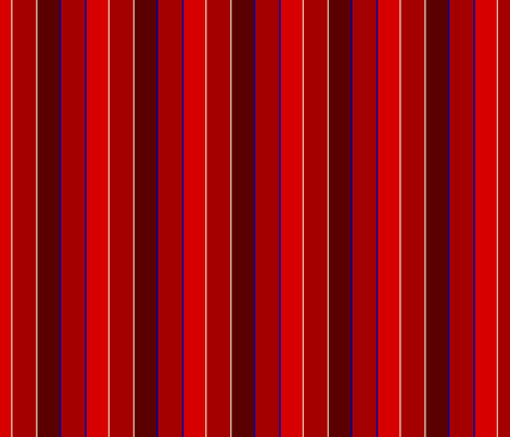 Fourth of July Stripes - Red fabric by katsanders on Spoonflower - custom fabric