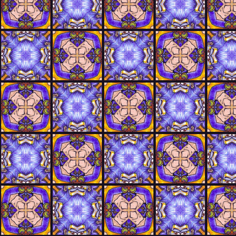 Hariha's Tiles fabric by siya on Spoonflower - custom fabric