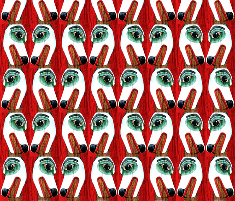 Totem fabric by robin_rice on Spoonflower - custom fabric