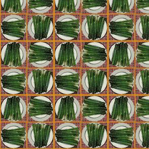 Asparagus Houndstooth alt
