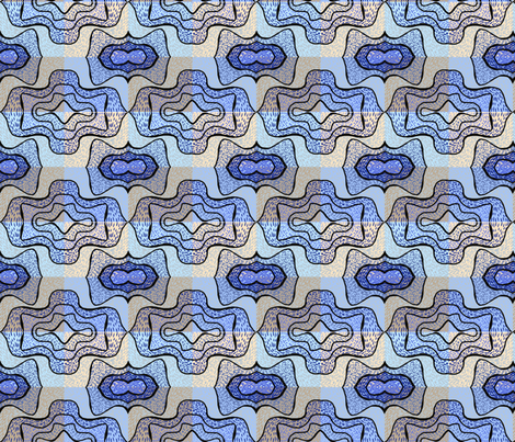 Bat check fabric by su_g on Spoonflower - custom fabric
