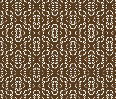 Diagonal_stripe_field_white_WARMBROWN fabric by mina on Spoonflower - custom fabric