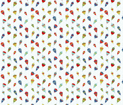 flotteurs_couleur_s fabric by nadja_petremand on Spoonflower - custom fabric