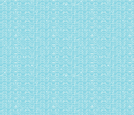 vagues fabric by nadja_petremand on Spoonflower - custom fabric