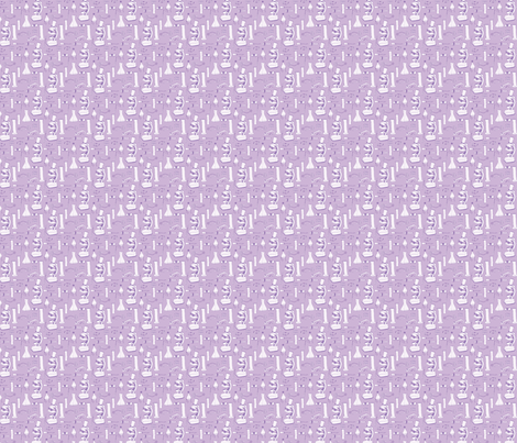 LaraGeorgine_weird_science_LIGHT PURPLE fabric by larageorgine on Spoonflower - custom fabric