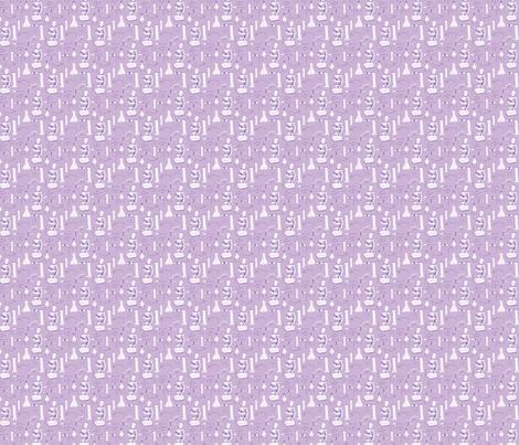 LaraGeorgine_weird_science_LIGHT PURPLE fabric by larageorgine on Spoonflower - custom fabric
