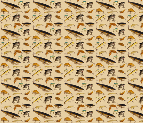 GoneFishy3JPG fabric by grannynan on Spoonflower - custom fabric