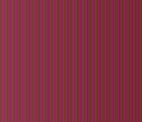 Dark brown stripes on hot pink. fabric by graphicdoodles on Spoonflower - custom fabric